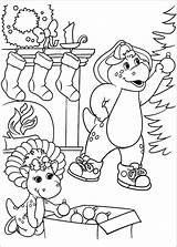 Barney Coloring Pages Barnie sketch template
