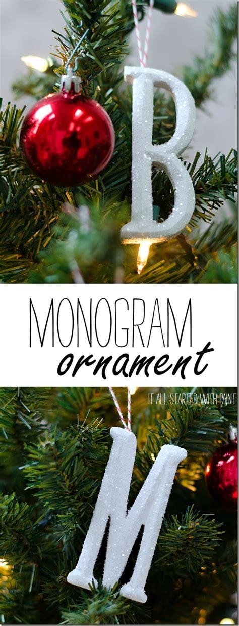 monogram ornament