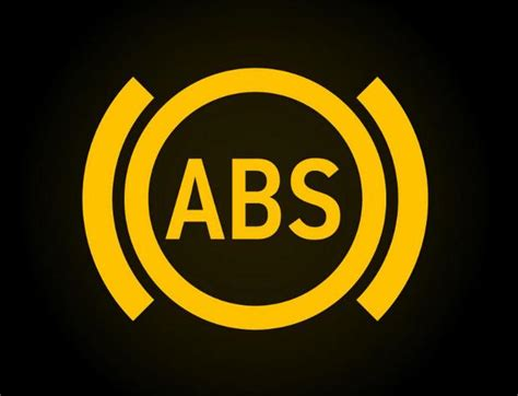 abs light on dashboard common car warning lights explained practical motoring