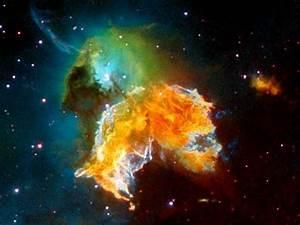 Supernova Remnant--Hubble Image   Galaxies & Glitz ...