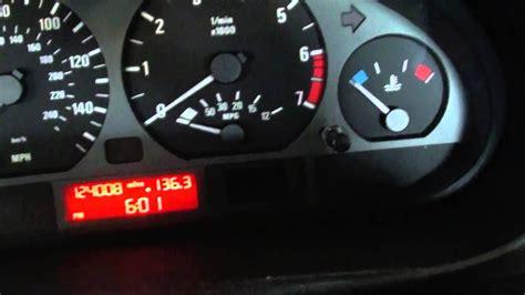 Clock On Bmw 3 Series E46
