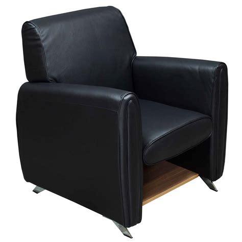 gosit single seat leather sofa chair black national