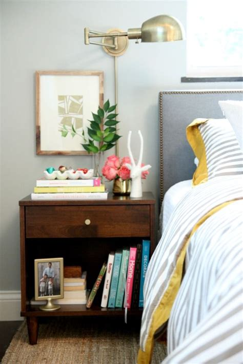 Ideas Your Bedside Table by Stylish Bedroom Inspiration And Nightstand Decor