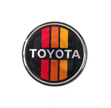 toyota old logo vintage toyota car emblem sticker auto automotive vehicle mens