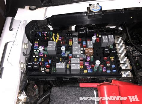 Wrangler Fuse Box by Fuse Box Jl Wrangler Reference Chart