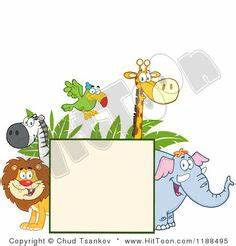 Printable Coupons Without Downloads A Page Border Featuring Zoo Animals Free Downloads At