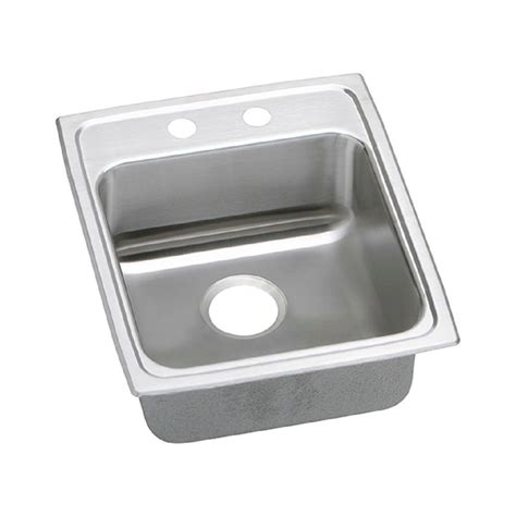kitchen sinks for elkay lustertone drop in stainless steel 46 in 3 7164