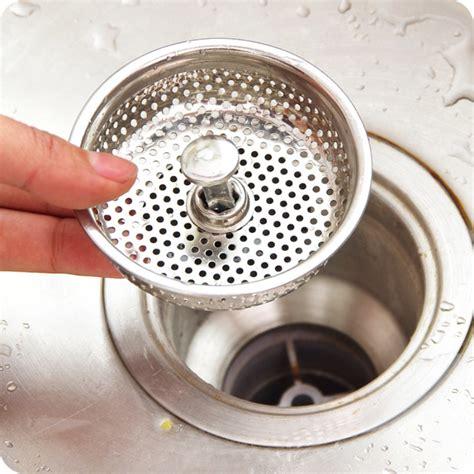 stainless kitchen sink strainer water drain plug sink