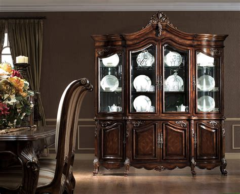 dining set with china cabinet the valencia formal dining room collection