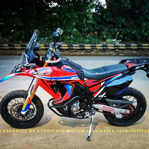 Honda Crf250rally Modification by Crf 250 Rally Shavanadecal Decals Design Sticker Crf