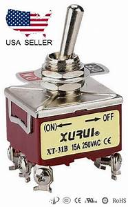 Heavy Duty 3pst  On -off Momentary Toggle Switch