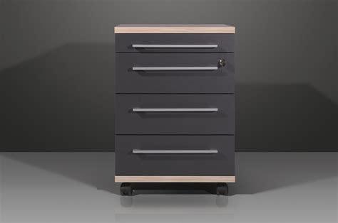 caissons bureau caisson de bureau contemporain 4 tiroirs coloris
