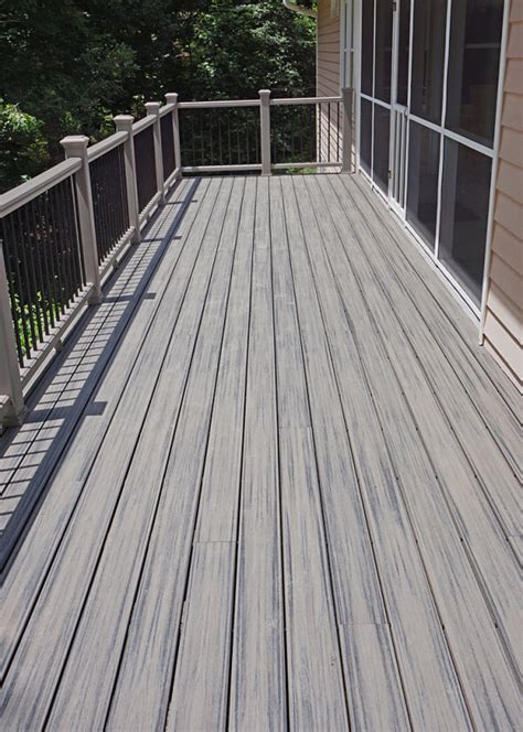 trex transcend decking island mist new trex transcend deck quot island mist quot color decking