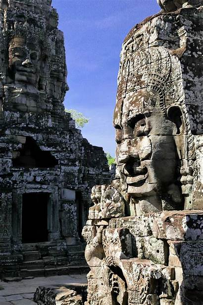 Cambodia Angkor Amazing Thom Wat History Culture