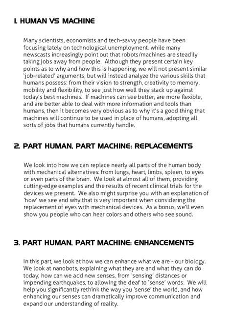 Human vs and part machine - TVP magazine