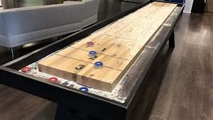 Shuffleboard Dimensions  How Long Is A Shuffleboard Table