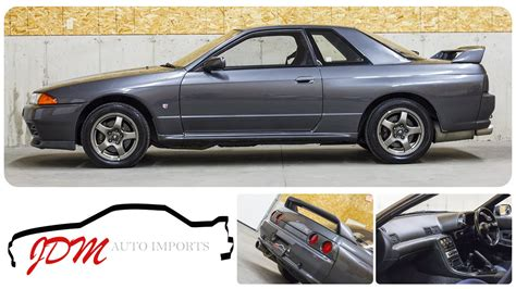 1989 Nissan Skyline R32 For Sale by 1989 Nissan Skyline R32 Gt R For Sale Jdm Auto Imports