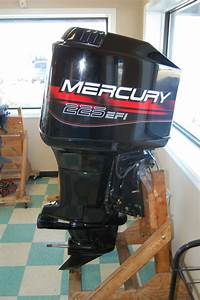 Mercury 225 Efi Outboard Boat Motor Completely Overhauled