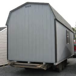 prefab wood amish built shed