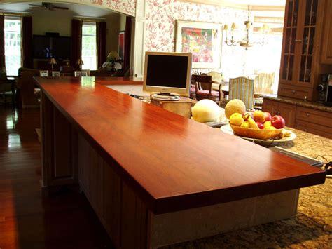 cherry countertop wood countertops gallery brooks custom