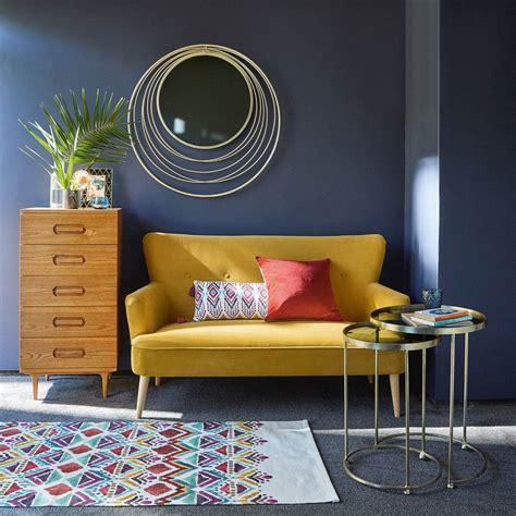 mustard yellow velvet sofa mustard yellow 2 seater velvet sofa yellow sofa room