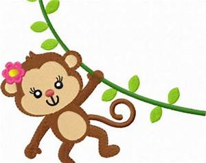 Cute Girl Monkey - ClipArt Best
