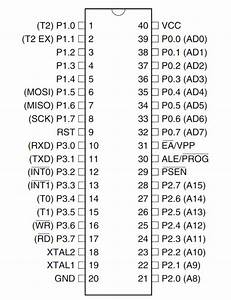 At89s52 Microcontroller Pinout  Pin Configuration