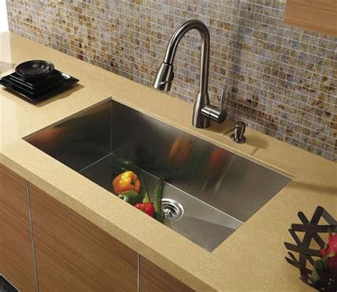undermount kitchen sinks pros and cons zero radius kitchen sink wow 9540