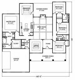 The Bedroom Bath Ranch Floor Plans by 1000 Images About Limited Offer 125 95 Ranch Style