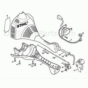 Stihl Fs55 String Trimmer Parts