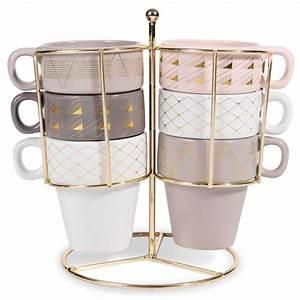 Tasse à Café Maison Du Monde : 6 tassen halterung aus steingut modern copper maisons du monde ~ Teatrodelosmanantiales.com Idées de Décoration