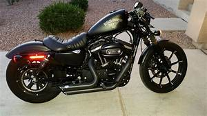 Iron 883 Tank Lift Wire Tuck Coil  U0026 Ignition Relocation