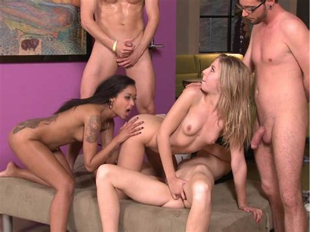 #Group #Sex #In #The #Living #Room