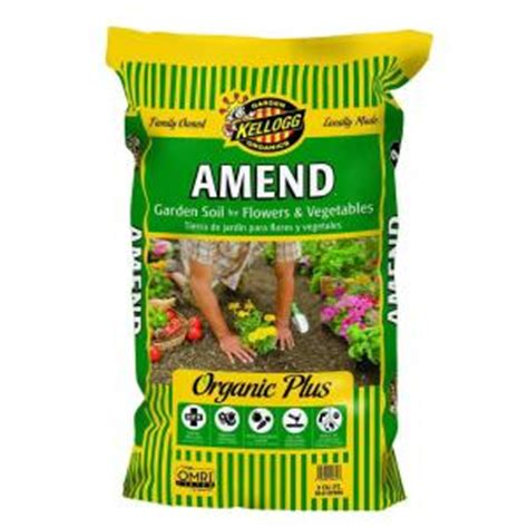 kellogg garden organics 2 cu ft amend garden soil for