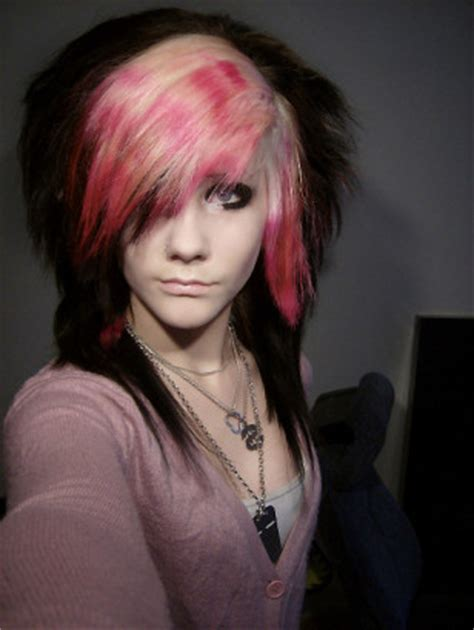 Celebrity Hairstyles Design: Latest Emo Hairstyles