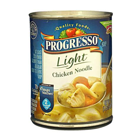 progresso light chicken noodle soup canned goods soup prepared meals progresso light