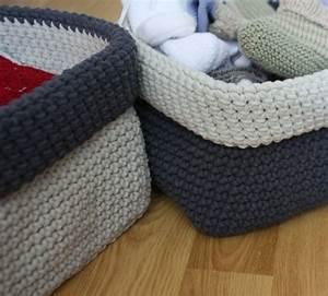 Corbeille Au Crochet : img 1816 copie broderie pinterest ranger et crochet ~ Preciouscoupons.com Idées de Décoration