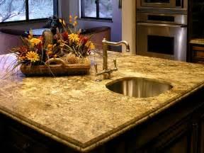 kitchen island with granite countertop choosing the right kitchen countertops hgtv