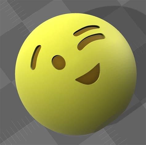 emoji   model  printable cgtradercom