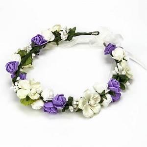 Couronne Fleur Cheveux Mariage : couronne fleur mariage ~ Melissatoandfro.com Idées de Décoration