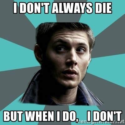 Dean Winchester Memes - typical dean winchester meme generator