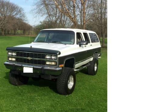 1991 Chevrolet Suburban 2500 Completely Custom Drivetrain
