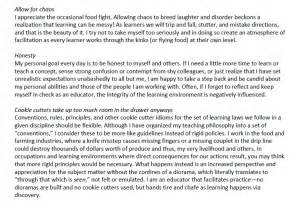 exle of personal statement for teaching affordable price personal statement template teaching