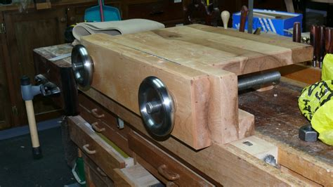 richs woodcraft hand tool bench  bench aka moxon vise