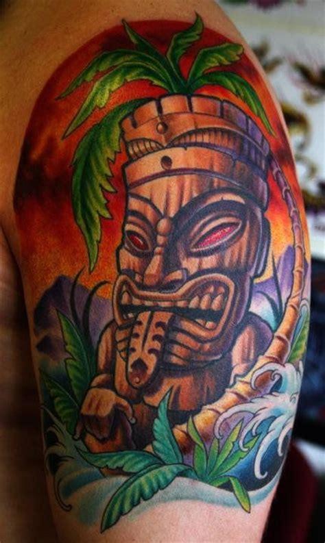 latest tiki tattoo designs  ideas