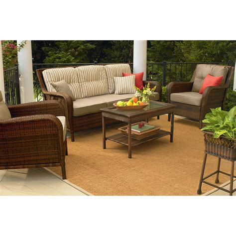 mayfield wicker patio sofa transform your outdoor style