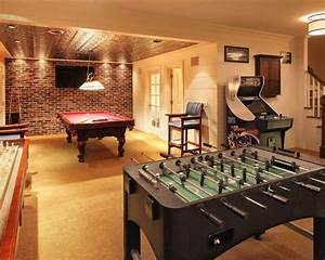 Basement Game Room Ideas, Pictures, Remodel and Decor