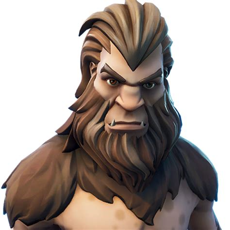 fortnite bigfoot skin outfit pngs images pro game guides