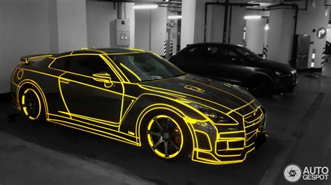 tron nissan gt  appears   chinese grid autoevolution