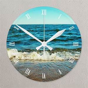 Roman Face All Over Print Large 10 75 U0026quot  Round Acrylic Clock